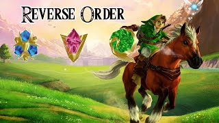 No Sword/Reverse Spiritual Stone Order(Part 1) [Ocarina Of Time N64]