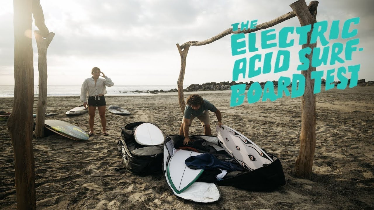 Download The Electric Acid Surfboard Test Starring Mason and Coco Ho