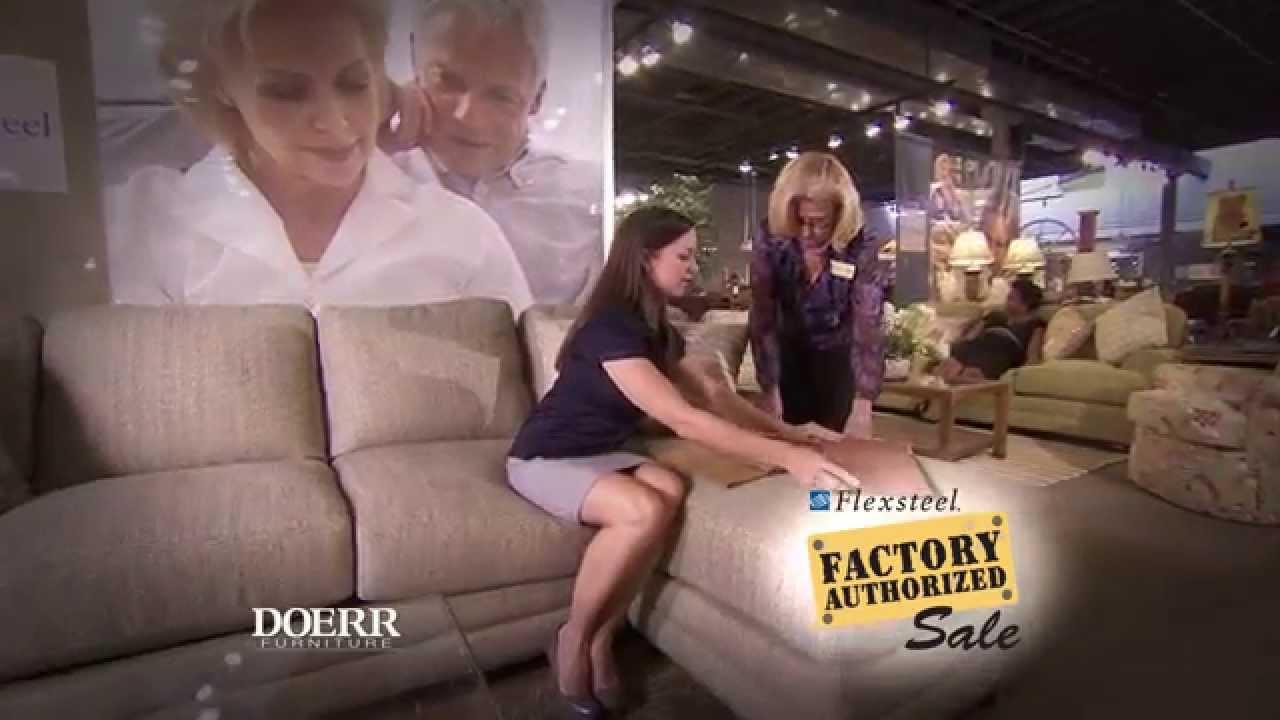 Doerr Furniture  Flexsteel Factory Authorized Sale