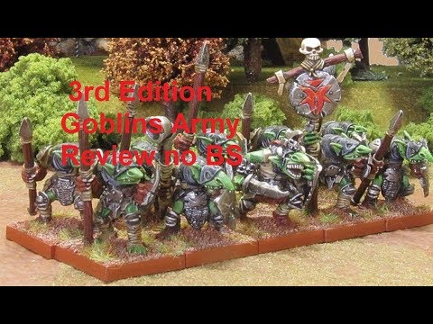 KINGS OF WAR GOBLIN ARMY REVIEW NO BS