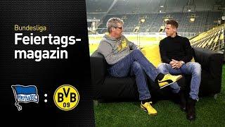BVB Matchday Magazin w/ Erik Durm   Hertha BSC - BVB