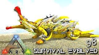 ARK: SURVIVAL EVOLVED - MYTH EMPEROR TEK SARCO E98 !!! ( ARK EXTINCTION CORE MODDED )