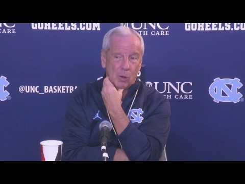 UNC Men's Basketball: Roy Williams Pre-NC State PC