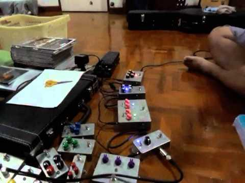 Mix Death Metal Sound by DIY effect guitar