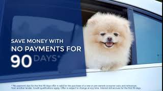 No Payments for 90 Days with an Auto Loan from Northwest Federal Credit Union