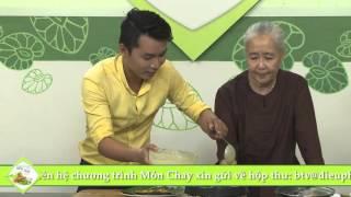 """Chương trình dạy nấu món chay """"Bánh khọt"""" Hướng dẫn: Nguyễn Dzoãn C..."""