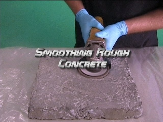 Smoothing Rough Concrete You