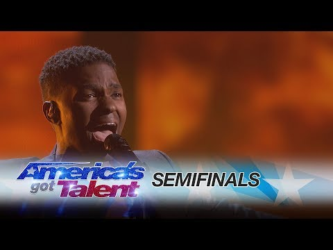 Johnny Manuel: Singer Stuns Audiences With An Original Song - America's Got Talent 2017