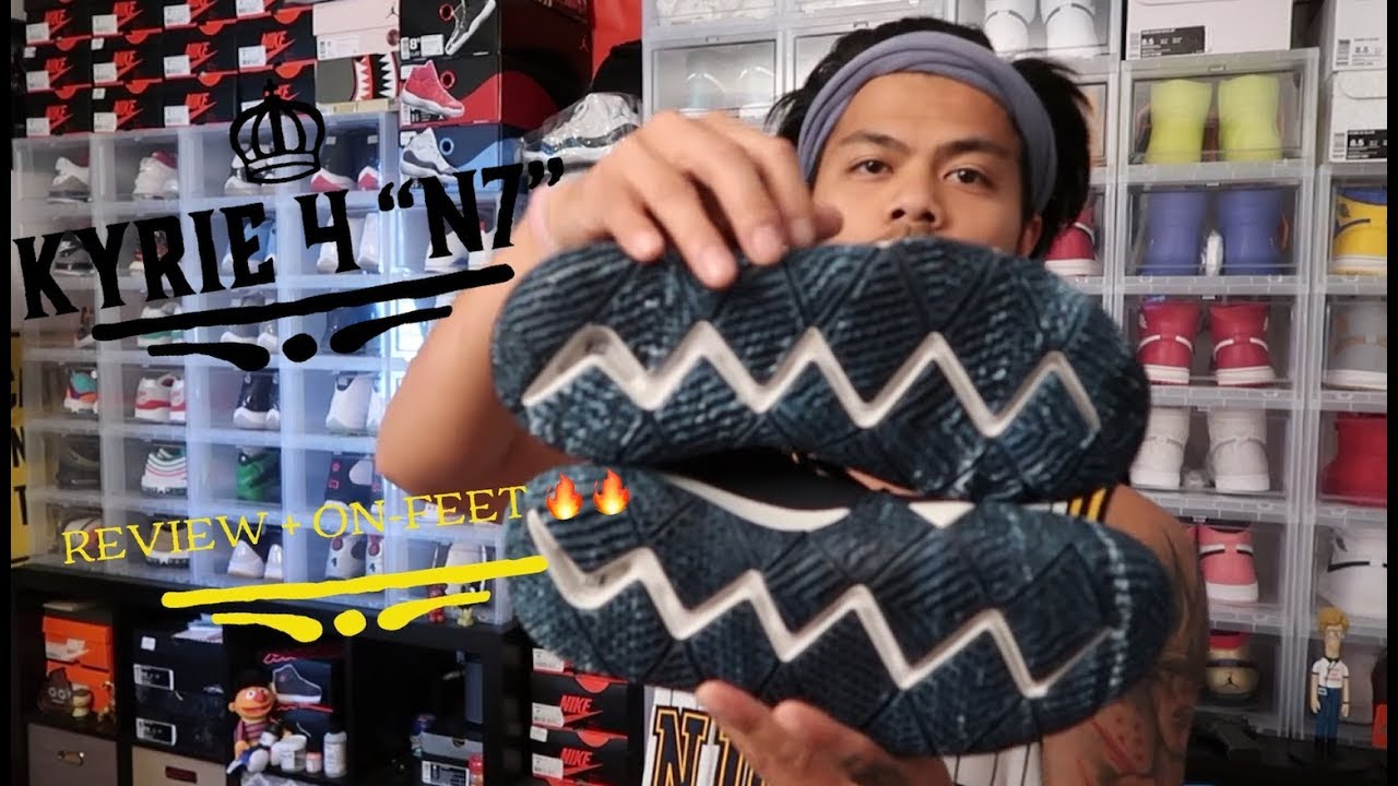74b244a2403 2018 kyrie 4 N7 review + on-feet - YouTube