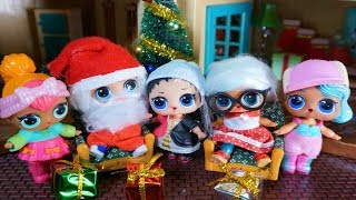 LOL SURPRISE DOLLS Go To Grandma's House For Christmas!