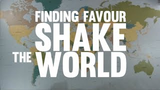 Finding Favour - Shake The World (Official Lyric Video)