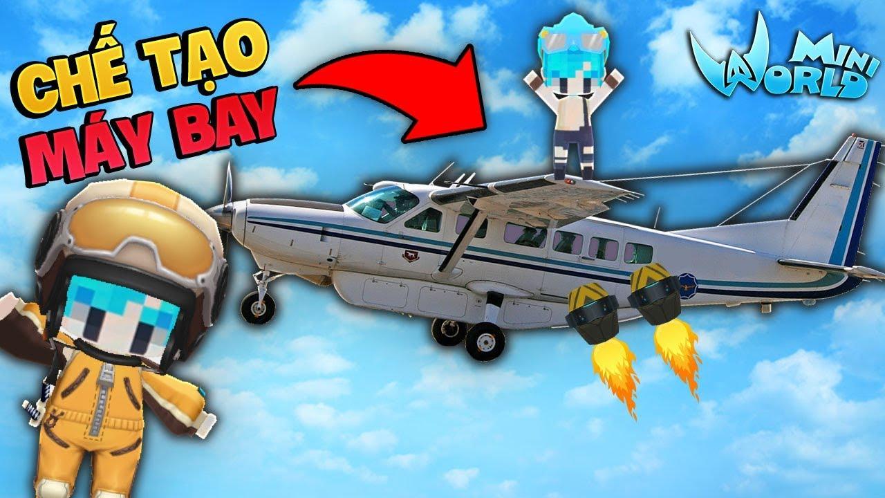 Gumball Thử Thách Chế Tạo Máy Bay Trong Mini World