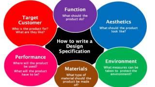 a written design analysis
