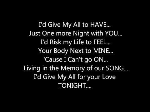 MARIAH CAREY - MY ALL **(LYRICS ON SCREEN)**