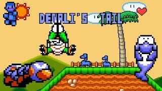 Denali's Tail (Demo) (Preview / no Longplay) • Super Mario World ROM Hack
