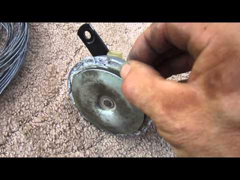 видео: Работа звукого сигнала после ремонта.