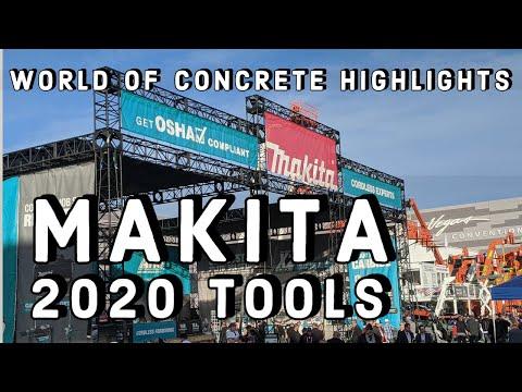 Makita 2020 New Tools - World Of Concrete Highlights