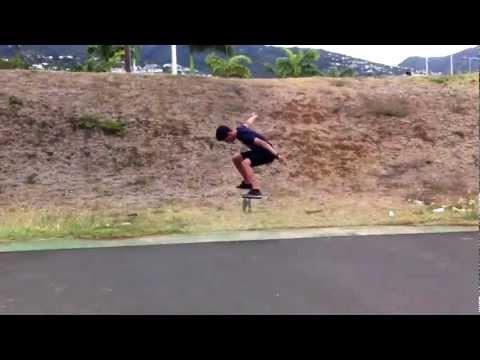 Thierry Finet. Skate( reunion island )