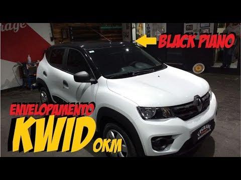 Envelopamento Lançamento Renault Kwid Zero Black Piano Youtube