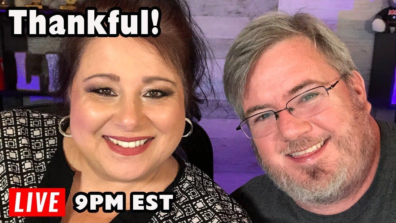 THANKFUL! Live Cruise Talk with Jenny and Tony