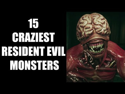 15 Craziest Resident Evil Monsters That Will Scare The Hell Out of You