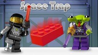 Лего Минифигурки игра - Космическая Ловушка  (  Lego games Minifigures Space Trap)
