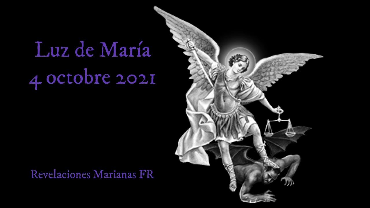 Download Luz de Maria - Message du 4 octobre 2021
