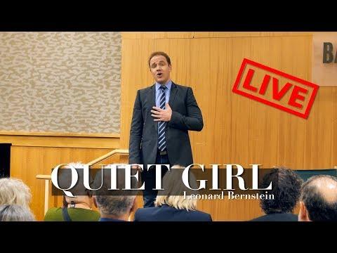 QUIET GIRL from 'Wonderful Town' - Bernstein | Jonathan Estabrooks