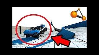 Опасные Спуски С Горы (Что стало с этой машиной??)-BeamNG DRIVE