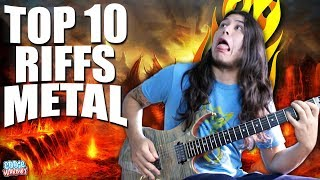 TOP 10 RIFFS DE GUITARRA MÁS FAMOSOS DEL METAL
