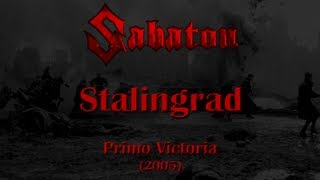 Repeat youtube video Sabaton - Stalingrad (Lyrics English & Deutsch)