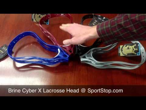 Brine Cyber X Lacrosse Head - Available Now @SportStop.com
