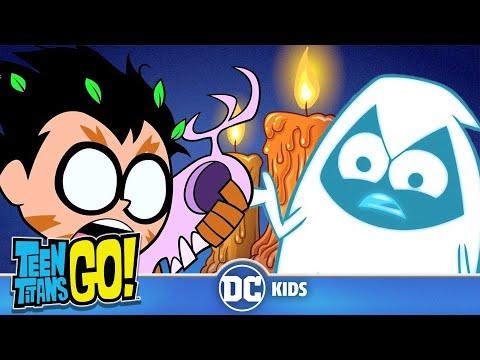 Teen Titans Go em Português  Festa Fantasma  DC Kids