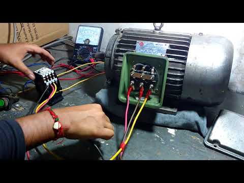 Start Delta Easy Connection In Motor S Electrical Terminal Youtube