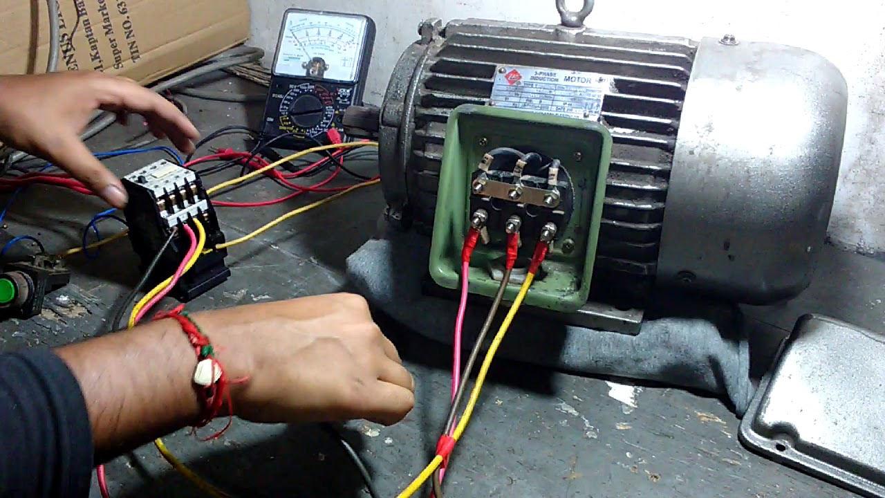 small resolution of start delta easy connection in motor s electrical terminal