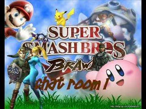Super Smash Brothers Brawl Chat Room 1
