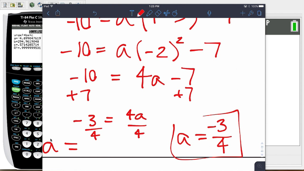 Released Algebra 2017 EOC #41-45 Solutions and ...