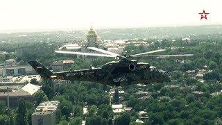 Начались испытания вертолета Ми-35П с подвижной пушкой и ракетами «Вихрь»