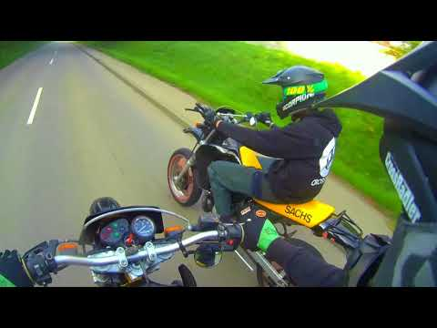 2 Stroke is our Life ! | Supermoto 125ccm | Sachs ZZ | CrossRadler