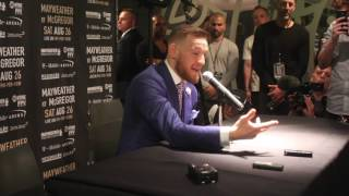 'SIT BACK, ENJOY THE SHOW & DONT EVER FU*KING DOUBT ME AGAIN!' - CONOR McGREGOR CHILLING MESSAGE