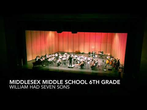 Middlesex Middle School 6th Grade William Had Seven Sons