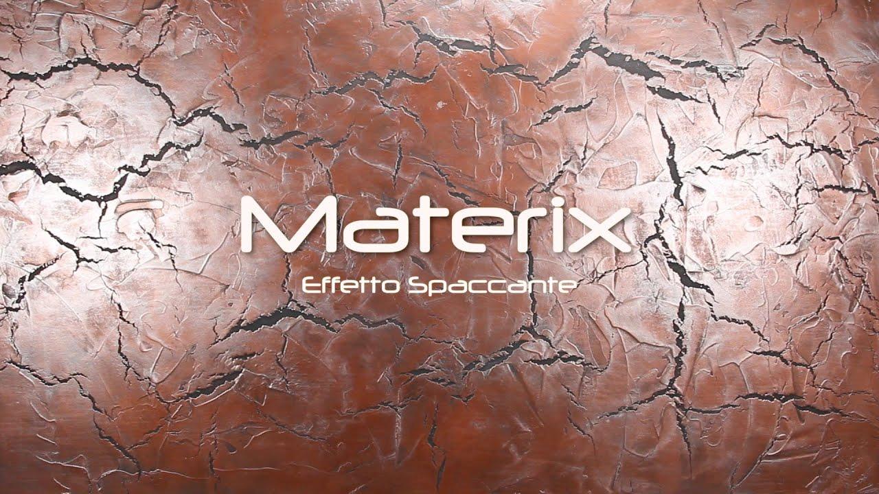 Materix Effetto Spaccante  YouTube
