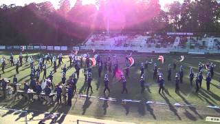 "East Ascension High School Marching Band 2013 ""the Music of Russia"""