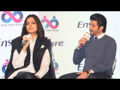 Anil Kapoor With Second Daughter Rhea Kapoor Unveil 'Ensure Dreams Survey 2017'