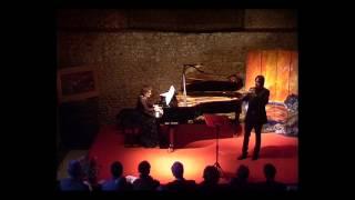 Schumann 3 romances op.94 pour hautbois et piano P. Giorgi et D. Sévène