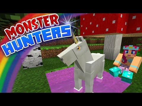 UNICORN PEE?! | Monster Hunters Ep.5 | Minecraft Roleplay thumbnail