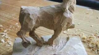 Wood Carving!! [horse]