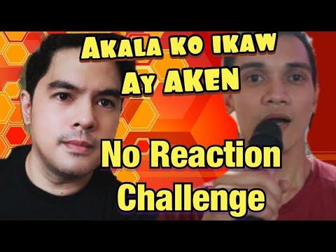 NO REACTION CHALLENGE | AKALA KO IKAW AY AKEN | JRYL EFOS Viral Cover | Reaction Time | Luha