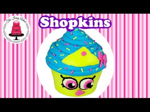 Shopkins Ice Cream Box Cake With Cone