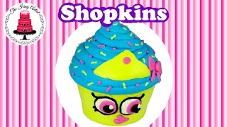 Shopkins Cupcake Queen Cake - How To With The Icing Artist